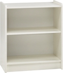 Kids low bookcase, white mdf.