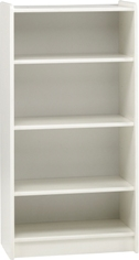 Kids tall bookcase, white mdf.