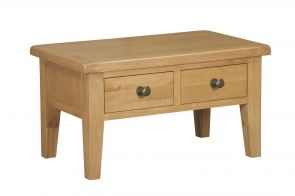 Toronto Oak Coffee Table with Drawers