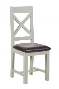 Toronto Painted 2 x Crossback Dining Chairs