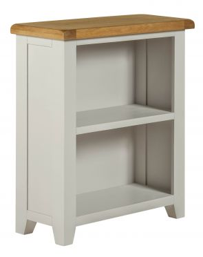 Toronto Oak and Painted Low Bookcase