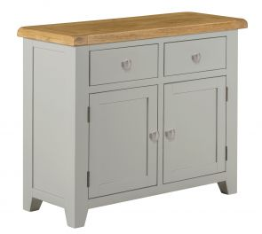 Toronto Oak and Painted 2 door 2 Drawer Small Sideboard