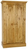 Welland Pine 2 Door Wardrobe